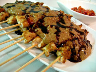 Resep Masakan Sate Ayam Sambal Kacang yang enak dan lezat
