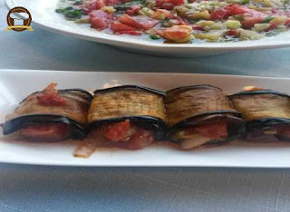 Eggplant Rolls with Pesto (Pesto Soslu Patlican Rulo)