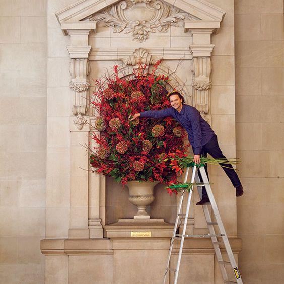Remco van Vliet. Artista floral en Museo Metropolitano de Arte MET