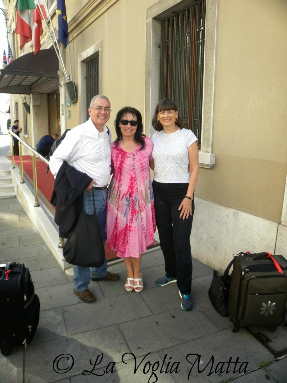 Linda e Ron a Trieste con Chiara