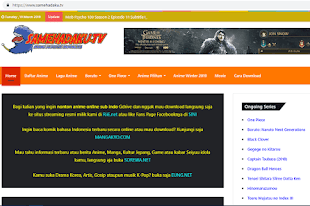 Cara Download Anime di Samehadaku