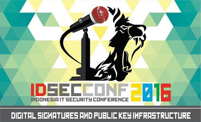 IDSECCONF 2016 : DIGITAL SIGNATURES AND PUBLIC KEY INFRASTRUCTURE
