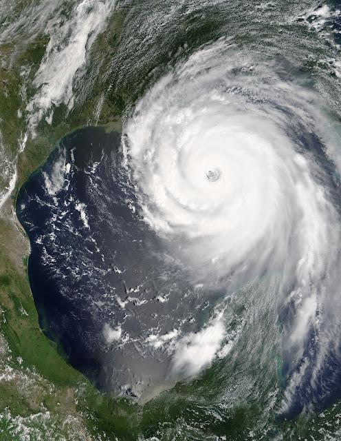 Ogrom potęgi żywiołu - Huragan Katrina
