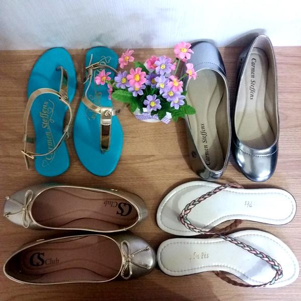 Minhas compras de janeiro: Sapatilhas e sandálias