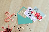 3 tarjetas navideñas para descargar free.  Image