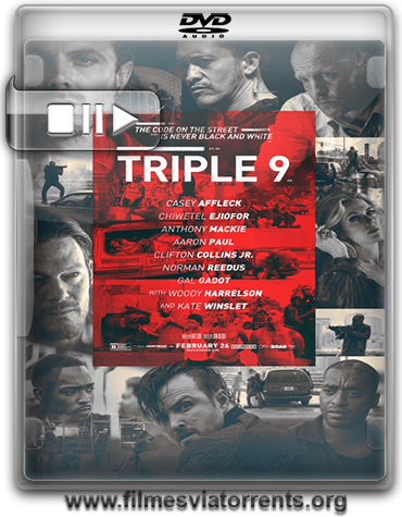 Triplo 9 Torrent - DVDRip Dual Áudio (2016)