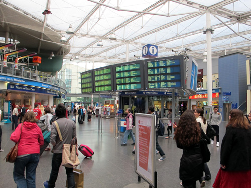 Hotels Manchester Piccadilly Train Station