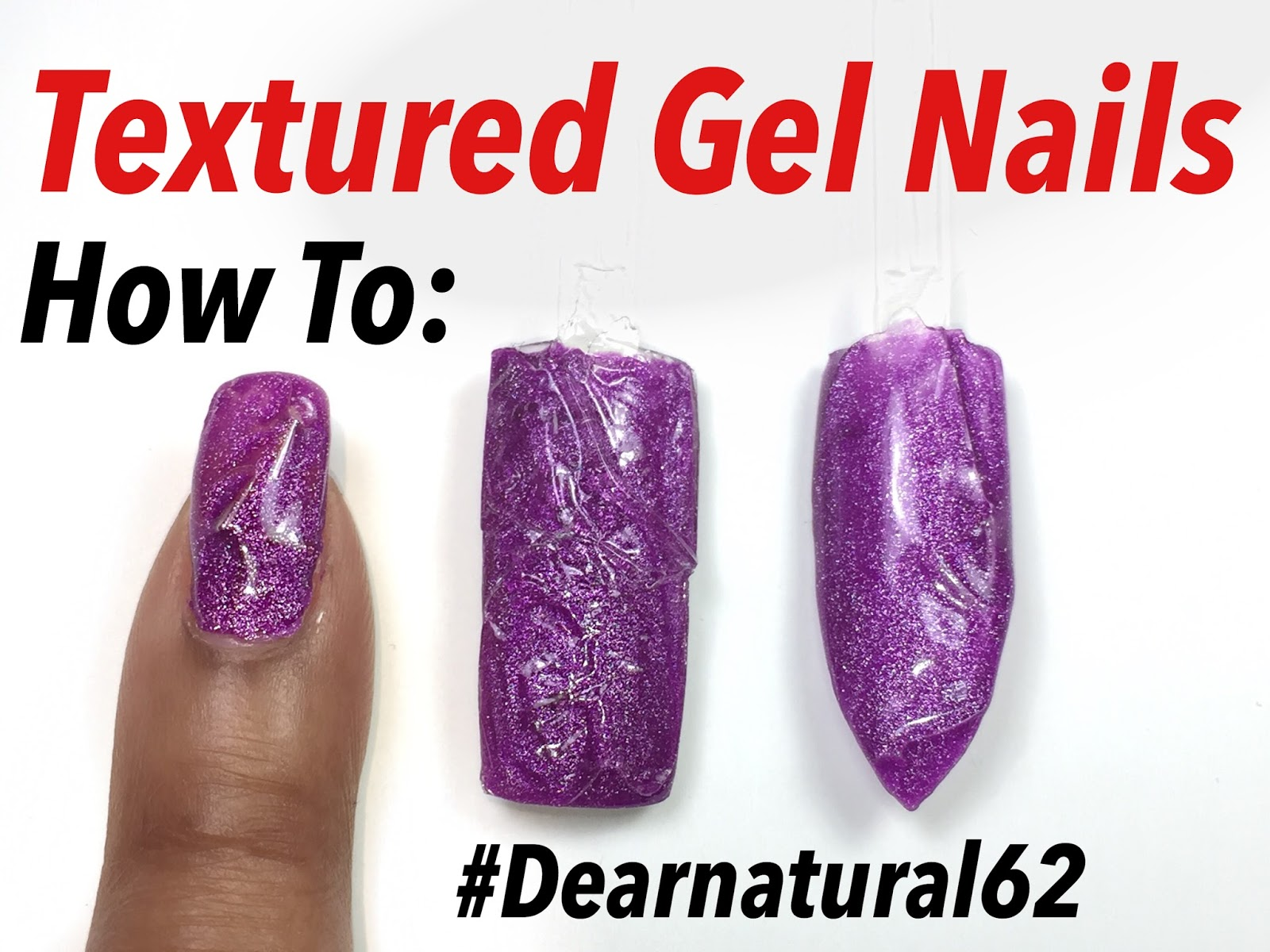 Howto Textured Gel Nail Art Hack