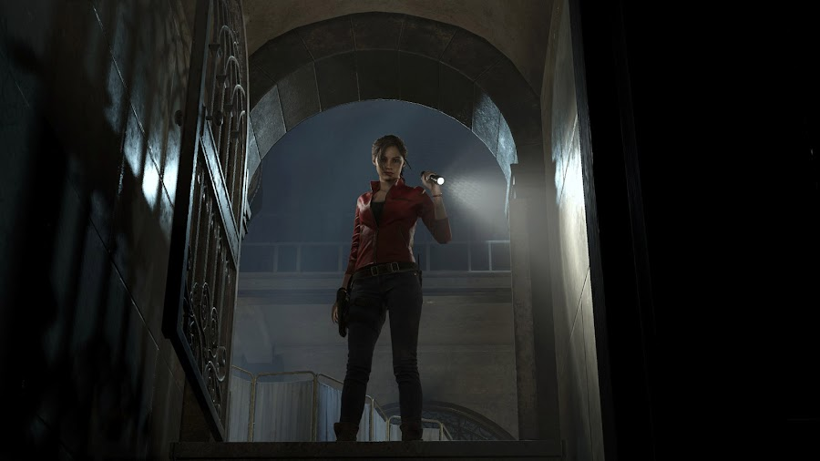 resident evil 2 remake claire redfield raccoon city screens