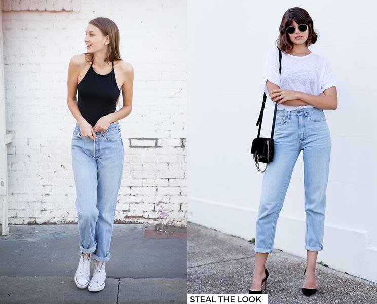 Últimas Tendências e Novidades da Moda • Mom Jeans