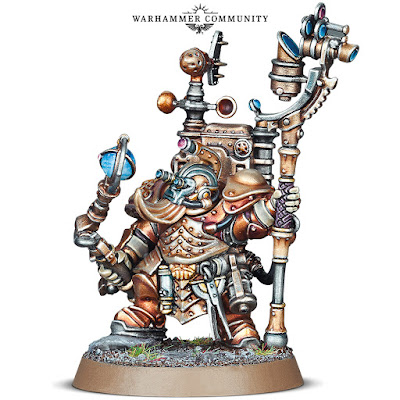 warhammer age of sigmar kharadron overlords aetheric navigator