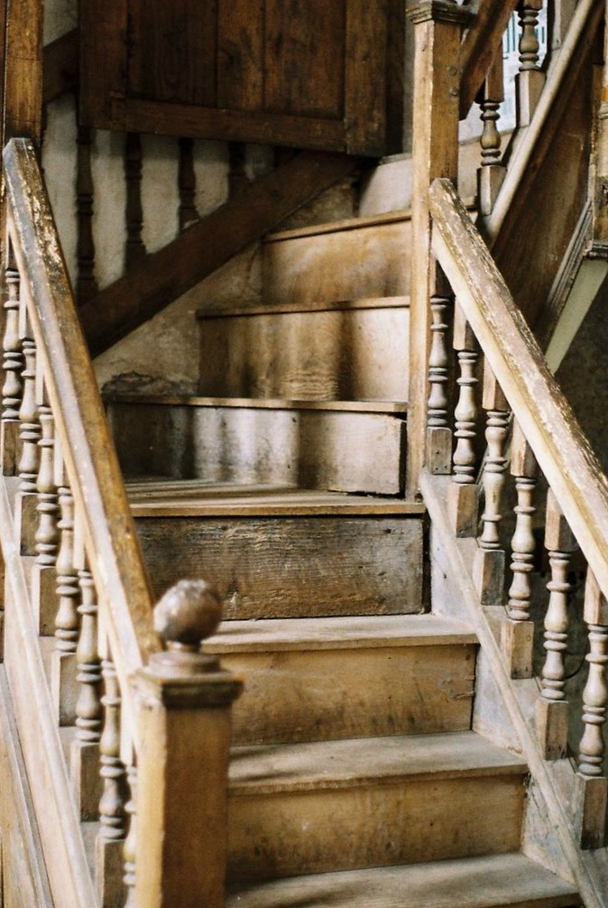 Our Staircase DIY from Carpet to Wood  DWELLINGSThe Heart of Your Home