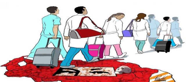 La emigración de médicos venezolanos que agudiza la crisis del sector salud