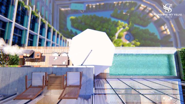 Sunshine Lake View Sky Villas 17 Phạm Hùng - Chủ đầu tư Sunshine Group biệt thự trên không