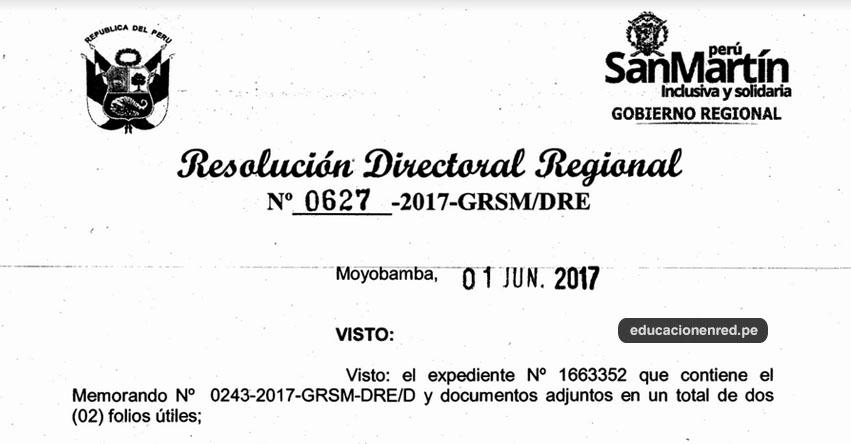 Encargan funciones como Directora de Gestión Pedagógica en la DRE San Martín (María Elena Vásquez Cusma) www.dresanmartin.gob.pe