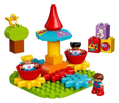 bauspaß mit LEGO DUPLO Mein erstes Karussell