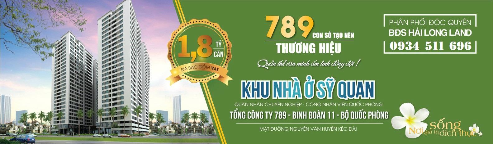 Tổng quan dự án Chung cư 789 Xuân Đỉnh – Bộ Tổng tham mưu | Tổng công ty 789 - Binh đoàn 11