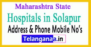 Hospitals in Solapur Maharashtra