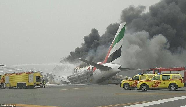 вибух літака