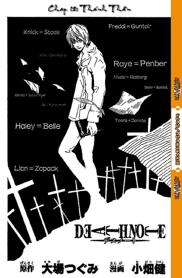 Death Note chapter 012 trang 3