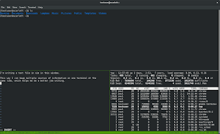 https://fedoramagazine.org/use-tmux-more-powerful-terminal/