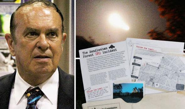 El coronel retirado Charles Halt, el más alto ex militar estadounidenses en hacer pública su denuncia relacionada a OVNis y extraterrestres.