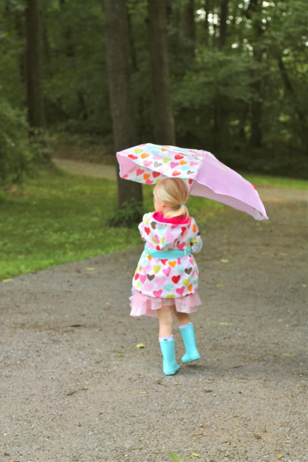 The Rainy Day Redo Raincoat And Umbrella Upcycle