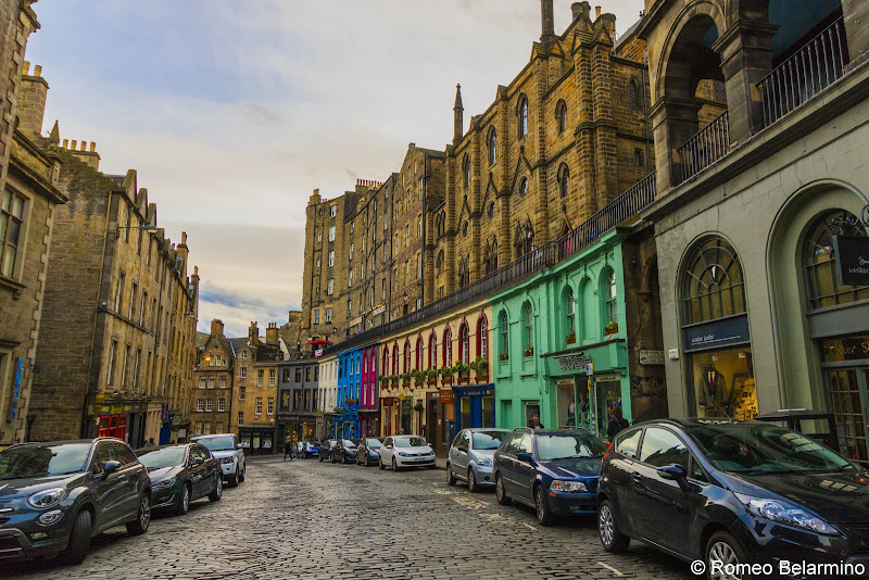 Victoria Street Diagon Alley Harry Potter Things to Do in Edinburgh in 3 Days Itinerary