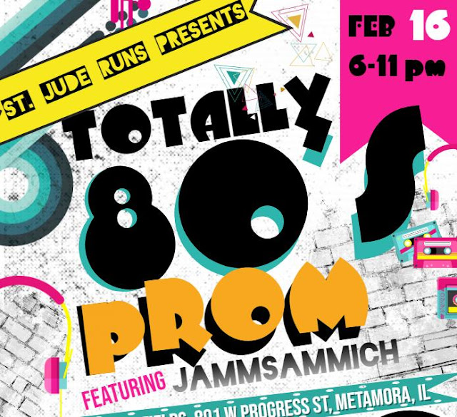 Totally 80's Prom Fundraiser @ Metamora Fields 2/16/19, Metamora Herald