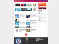 Template Blog Gratis Cocok untuk Daftar Adsense Besutan GalihDesign.com