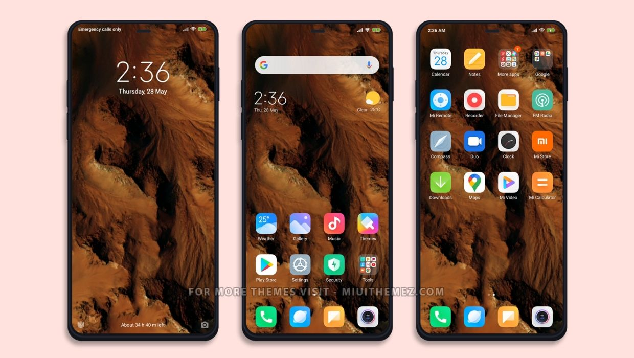 MIUI 12 Super Live Wallpaper Theme
