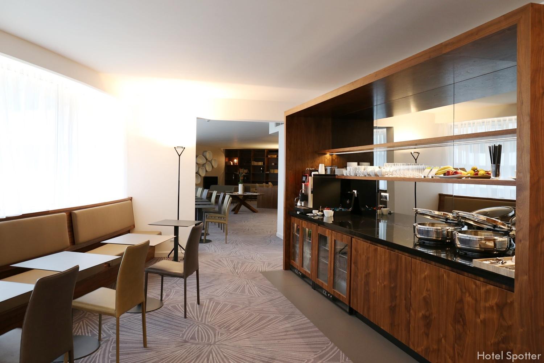 Salonik Executive Lounge w DoubleTree Wroclaw - recenzja