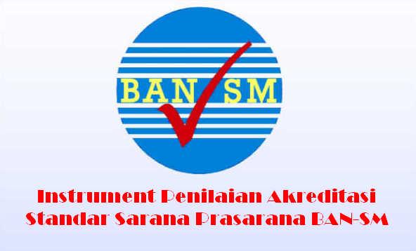 Instrument dan Bukti Fisik Akreditasi Standar Sarana Prasarana BAN-SM