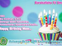 Desain Ucapan Selamat Ulang Tahun Mom