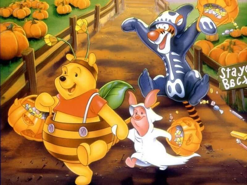 Tinkerbell Fall Wallpaper Winnie The Pooh And Friends Clipt Art Wallpaper