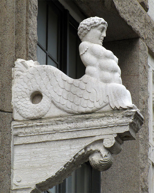 Detail of the facade, Admiralspalast Theater, Friedrichstraße, Berlin