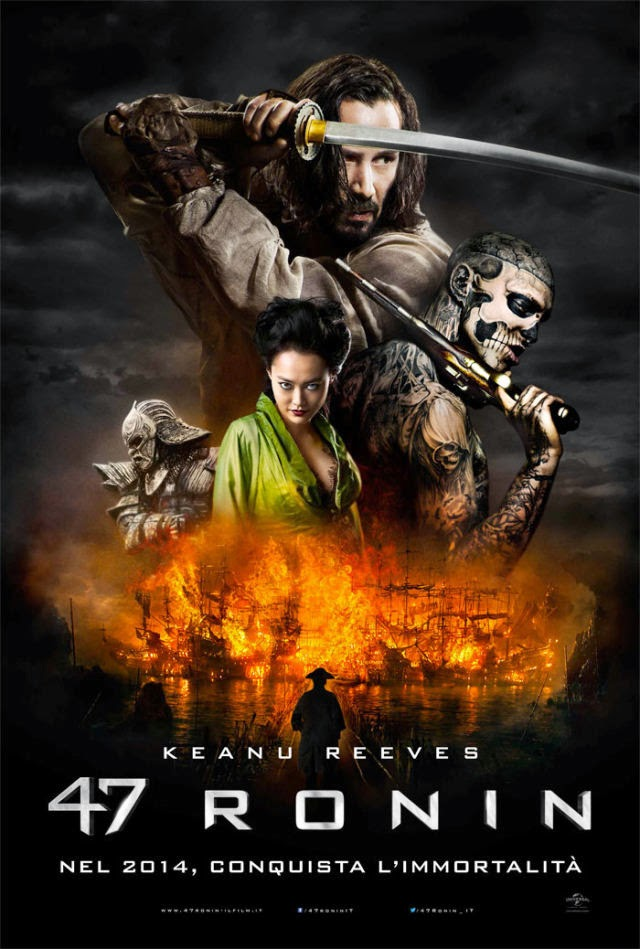 47 Ronin Poster Recensione