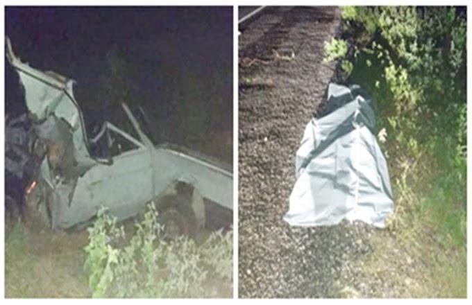 Mulher morre e 5 pessoas ficam feridas após caminhão colidir na traseira de Voyage na BR-423