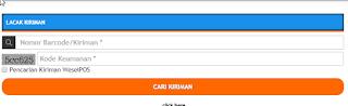 cara melacak kiriman barang via pos indonesia