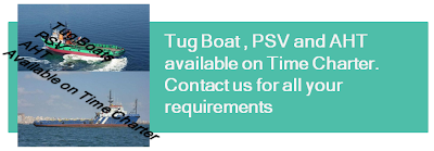 Tugboat, PSV, AHT, towing services, short period towing job works, towing per voyage, one week tow service, ship towing, barge towing, dredger towing, paltform supply vessel, anchor handling tugs, bollard pull, offshore, fire fighting, DSPV,