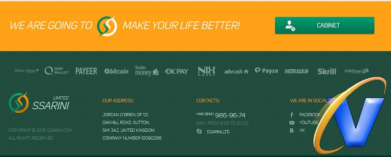[SCAM][HIYP] Đầu tư Bitcoin với SSARINI - Mining BTC with SSARINI