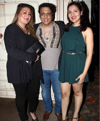 govinda with daughter