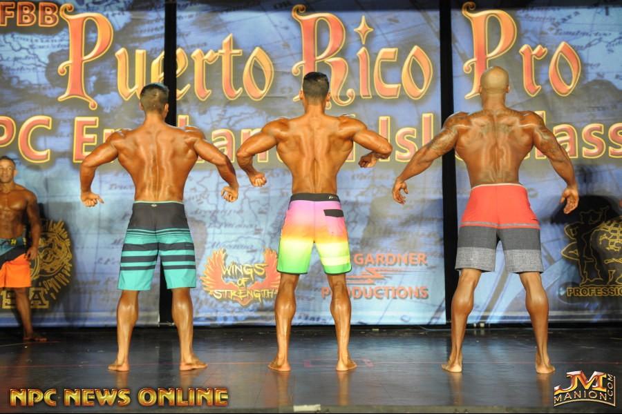 Comparação de dorsais de Chase Savoie, Felipe Franco e Jacques Lewis. Foto: NPC