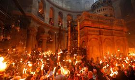 Christians Mark Easter At Jerusalem Site Of Jesus's Resurrection (Photo)