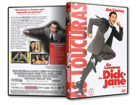 Capa DVD As Loucuras de Dick & Jane
