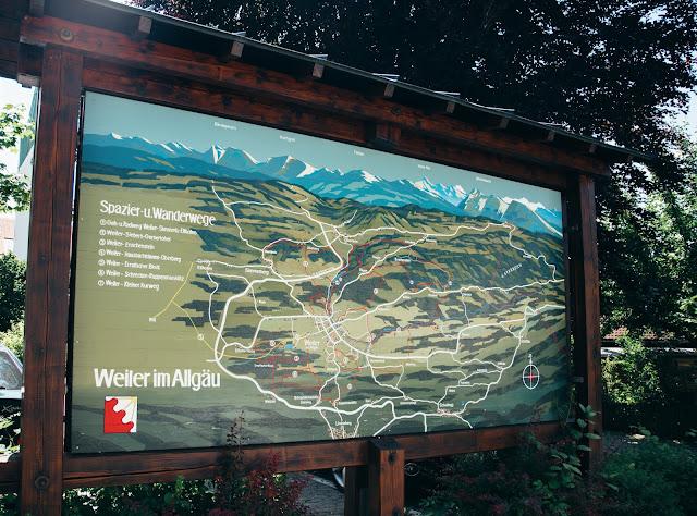 Wandertrilogie Allgäu  Etappe 38 Weiler-Scheidegg-Lindenberg  Wasserläufer Route 02