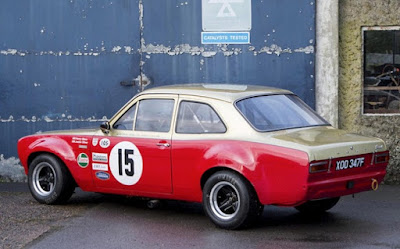 1967 Ford Escort MKI  Rally Car Rear Left