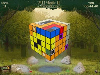 виртуальный гиперкубик Рубика