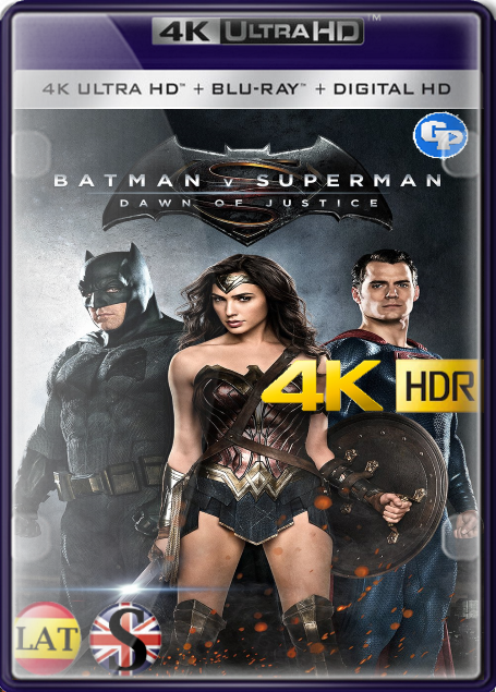 Batman vs. Superman: El Origen de la Justicia – EXTENDED (2016) 4K HDR LATINO/INGLES