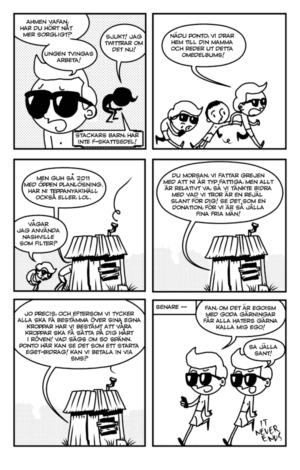 Pigg antologi om osexigt amne